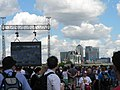 Tour de France, Greenwich, big screen - geograph.org.uk - 493718.jpg