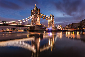 Tower Bridge - Tower Bridge at dawn
