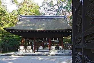 Toyokuni Shrine (Kyoto) - Image: Toyokuni jinja 02s 1024