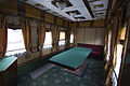 Train carriage interior - Historical exhibition of railway rolling stock in Kyiv 3.jpg