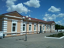 Vilnohirsk train station