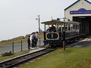 Summit tram stop - Summit Tram Station