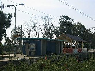 Burswood railway station - Station in April 2005