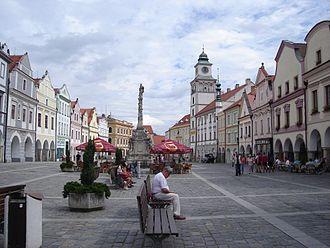 Třeboň - Třeboň - Masaryk's square