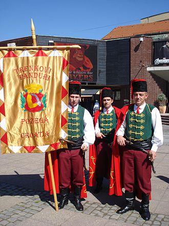 Trenck's Pandurs - Trenck's Pandurs living history troop from Požega, Croatia