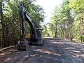 Trestle Trail construction, September 2018.JPG