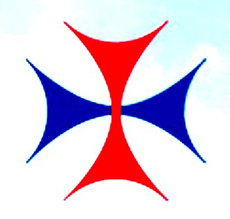 Washington Catholic Athletic Conference - Image: Trinitarians old cross