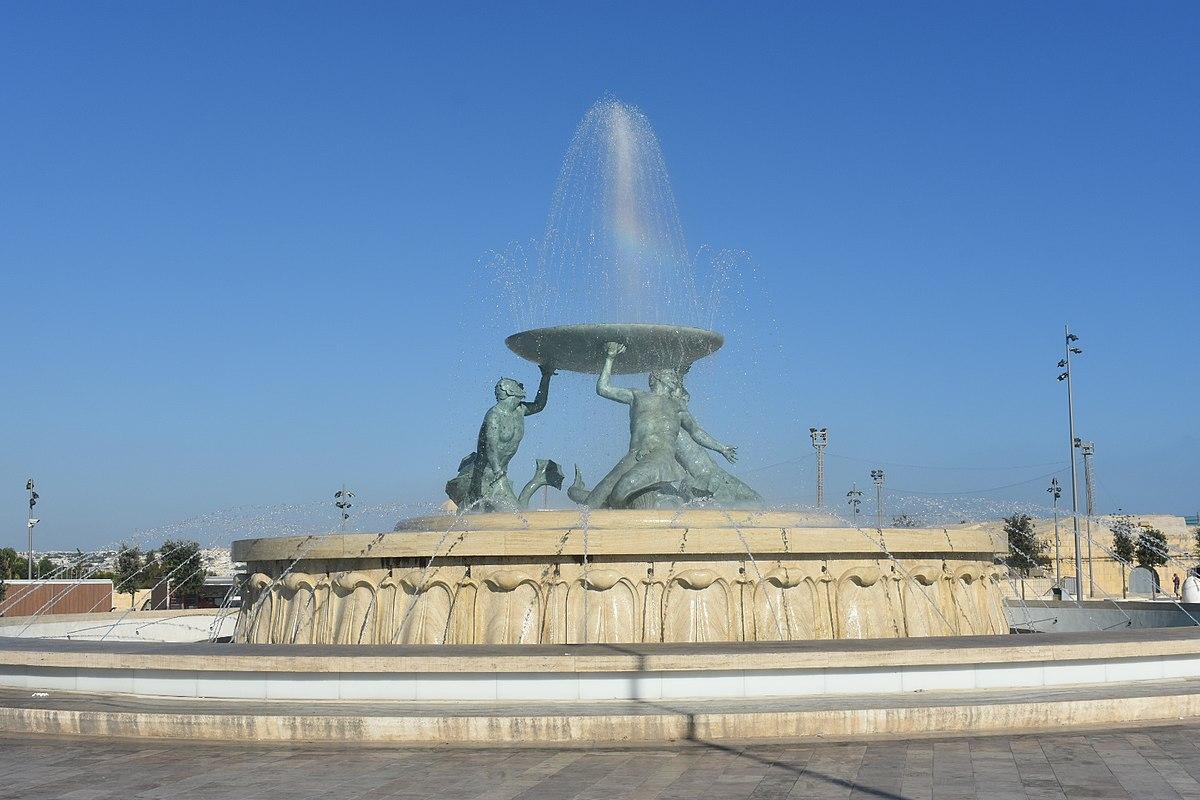 Triton Fountain Malta Wikipedia