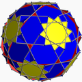 Truncated dodecadodecahedron with blue square.png