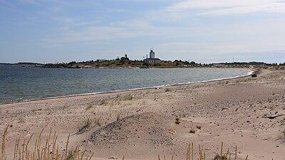 Stranden vid Hangö