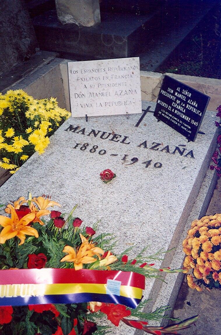 Tumba de Manuel Azaña