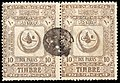 Turkey 1890 proportional fee Sul4583 pair.jpg