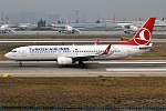 Turkish Airlines, TC-JGM, Boeing 737-8F2 (39954421241).jpg