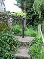 Turnstile at the top of the steps leading to Tayne field - geograph.org.uk - 960710.jpg