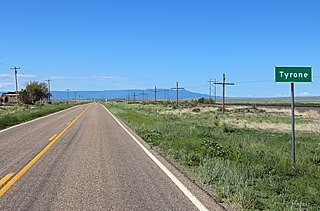 Tyrone, Colorado Unincorporated community in Colorado, United States
