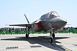 U.S. Marine Corps F-35B Lightning II(169164) of VMFA- 121 right front view at MCAS Iwakuni May 5, 2018 03.jpg