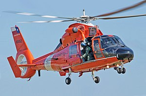 Eurocopter HH-65 Dolphin - A USCG MH-65 from CGAS Corpus Christi.