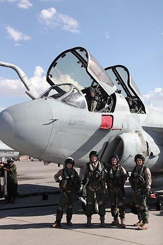 Northrop Grumman EA-6B Prowler - USMC-100729-M-0381B-008