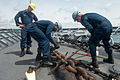 USS Mobile Bay sailors secure anchor 121007-N-LV331-277.jpg
