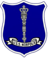 USS Norfolk (DL-1) patch.png