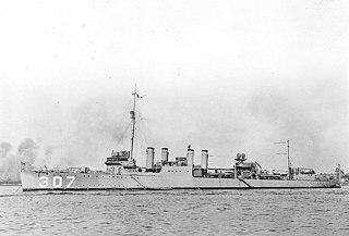 USS <i>Paul Hamilton</i> (DD-307)