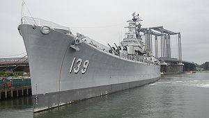 United States Naval Shipbuilding Museum - USS Salem (CA-139)