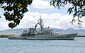 US Navy 060623-N-0641S-128 The Peruvian Navy ship BAP Mariatagui (FM 54) pulls into Pearl harbor for a scheduled port call before starting Rim of the Pacific (RIMPAC) 2006.jpg
