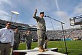 US Navy 071118-N-1644C-009 Brig. Gen. Rick McCabe administers the oath of enlistment to 125 future recruits from the five branches of the military during the halftime show of the Jacksonville Jaguars vs. San Diego Chargers foot.jpg