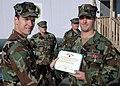 US Navy 081126-N-9095H-010 Lt. Peter Glynn s presented with the Bronze Star.jpg