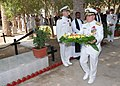 US Navy 091111-N-0803S-012 Vice Adm. Bill Gortney places a wreath at an Armistice Day ceremony.jpg
