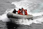 US Navy 100417-N-3542S-021 Sailors assigned to the guided-missile destroyer USS Laboon (DDG 58) navigate a rigid hull inflatable boat during exercise Joint Warrior 10-1.jpg