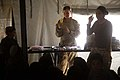 US Navy 110127-M-3952S-182 Female Engagement Team members teach a health class to Afghan women during a health initiative.jpg