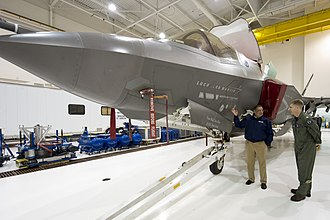 Naval Air Station Patuxent River - F-35 Fighter, which is under testing at PAX River NAS