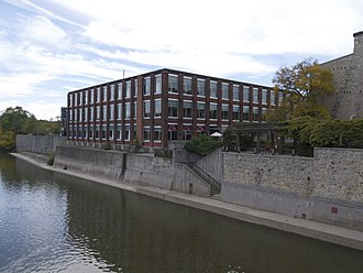 University of Waterloo - The School of Architecture is located in Cambridge, Ontario, next to the Grand River.