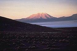 Ubiñas вулкан в Ubiñas районе