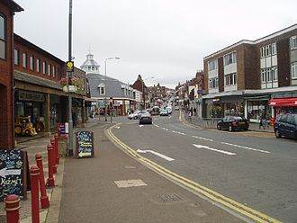 Uckfield - Image: Uckfield High Street