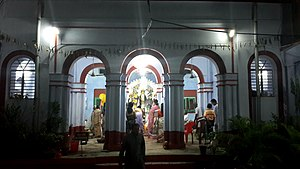 Serampore - The century old Durga Puja of Ukil Bari, Chatra