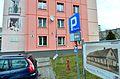 Ulica Ludwika Zamenhofa 26 w Białymstoku Tutaj stał dom, w którym urodził się Ludwik Zamenhof.JPG