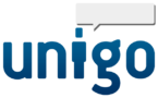 The logo of Unigo.