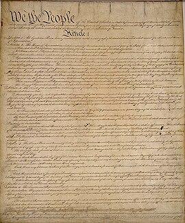 Grondwet Van De Verenigde Staten Wikipedia