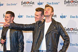 Unser Song für Dänemark - Pressekonferenz mit 8 Acts - The Baseballs-1637.jpg