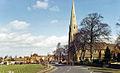 Upton-on-Severn northward into town on A4104 1724333 1474ed7c.jpg