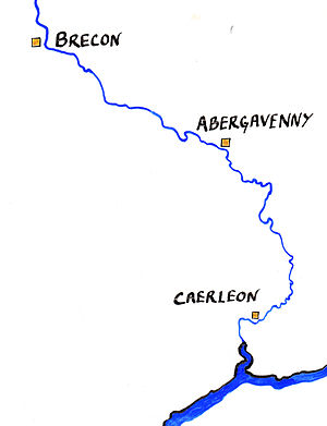 Wynebald de Ballon - The Lower River Usk. Caerleon was the lordship of Wynebald de Ballon, Abergavenny that of his brother Hamelin. Brecon was the lordship founded by Bernard de Newmarch, probable ancestor of Wynebald's son-in-law William de Newmarch