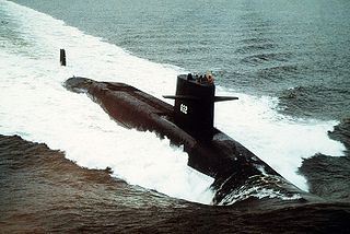 USS <i>Von Steuben</i> (SSBN-632) James Madison-class submarine