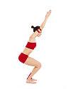 100px Utkatasana Yoga Asana Nina Mel yoga asanas Liste des exercices et position à pratiquer