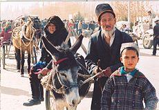 Muslim Uighur People