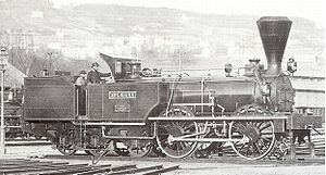 Engerth locomotive - An Engerth locomotive