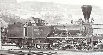 Engerth locomotive - An Engerth locomotive