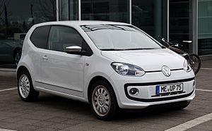 Volkswagen Up - A Volkswagen up!