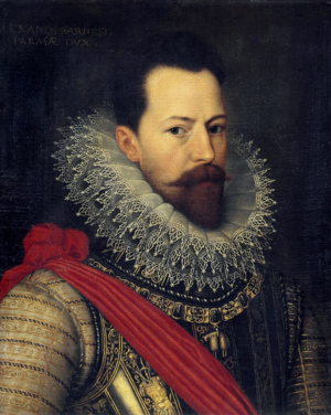 Battle of Gembloux (1578) - Portrait of Don Alexander Farnese by Otto van Veen